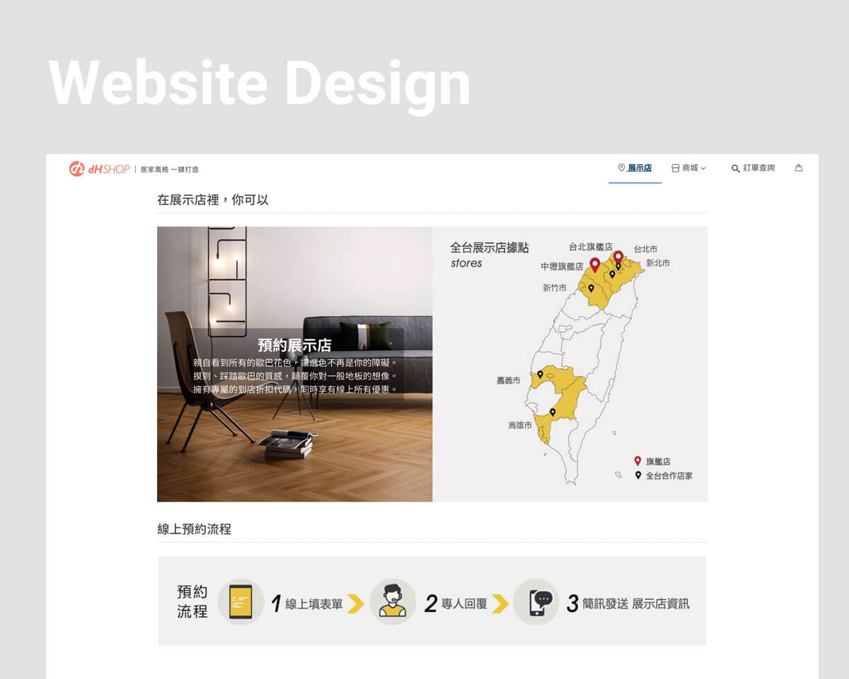 官方網站架設、建置