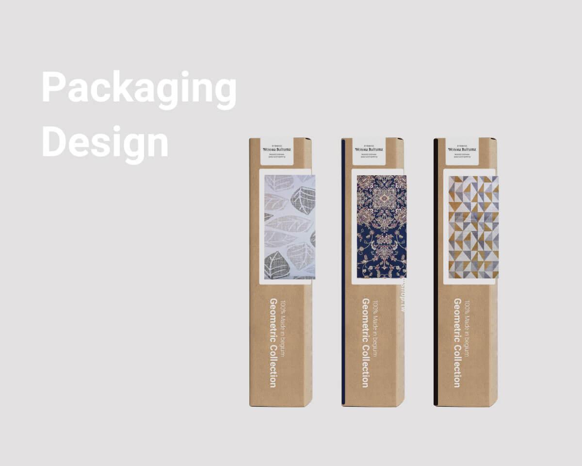 2018品牌地毯產品包裝設計暨銷售頁面建置